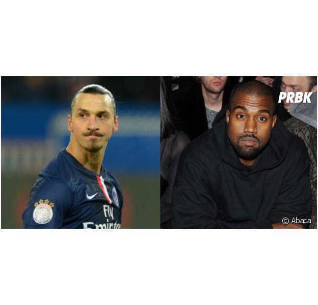 Zlatan Ibrahimovic VS Kanye West : battle de punchlines égocentriques