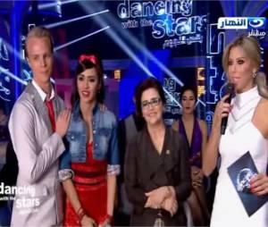 Leila Ben Khalifa : danse et hommage à la Tunisie avec sa maman après les attentats, dans Danse avec les stars au Liban le 22 mars 2015