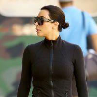 Kim Kardashian : adieu le blond platine, elle redevient brune