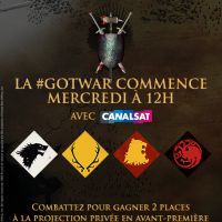 Game of Thrones saison 5 : gagnez 2 places pour l'avant-première avec la #GoTWar