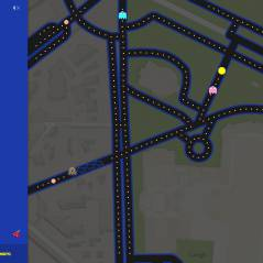 Pour le 1er avril, Google installe Pac-Man dans... Google Maps (et ce n'est pas une blague)
