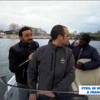 Cyril Hanouna, Issa Doumbia et Camille Combal : virée en zodiac pour squatter France Télévisions