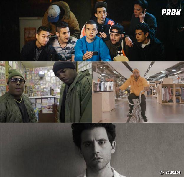 Mika, Disiz, Bigflo & Oli, Theodora, Neg Marrons et Yanis dans les clips de la semaine, avril 2015