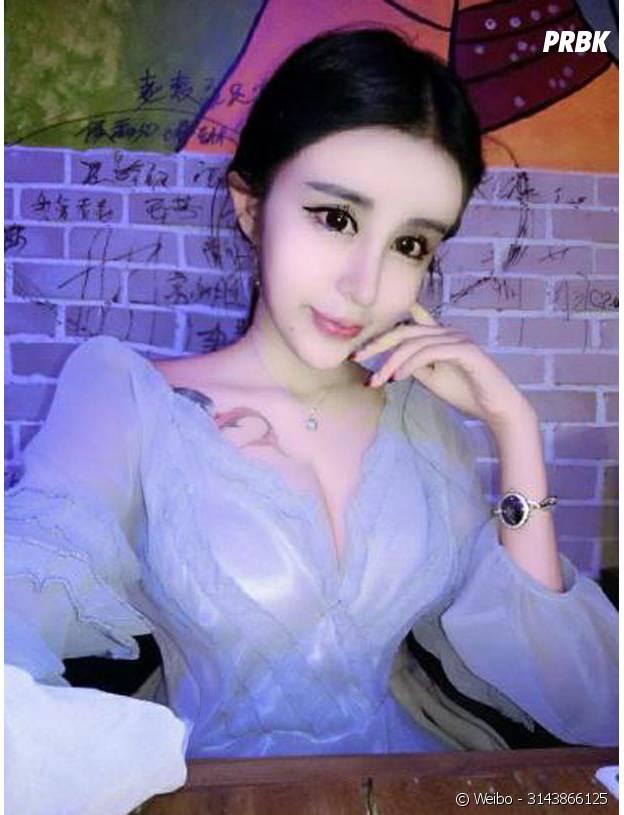 Une photo de Lee Hee Danae sur son compte Weibo