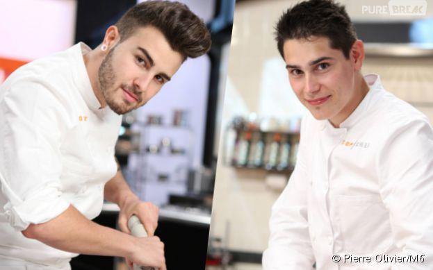 Xavier Koenig et Kevin d'Andrea : les deux finalistes de Top Chef 2015