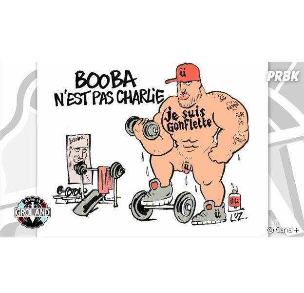 Booba : caricaturé par Luz suite à ses propos sur les attentats de Charlie Hebdo