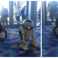 Star Wars : un enfant en fauteuil roulant réalise son rêve : danser avec R2-D2 !