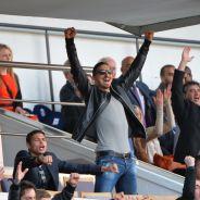 Zlatan Ibrahimovic, Malika Ménard, Ary Abittan... : supporters heureux du PSG au Parc des Princes