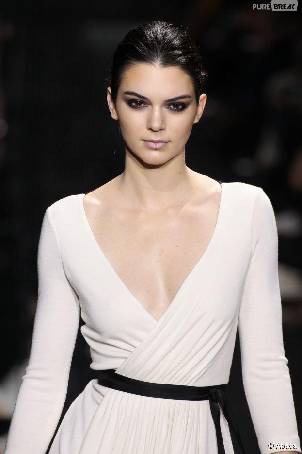 Kendall Jenner, star des podiums de la dernière Fashion Week de Paris en février 2015
