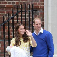 Kate Middleton et le Prince William : premières photos de leur princesse