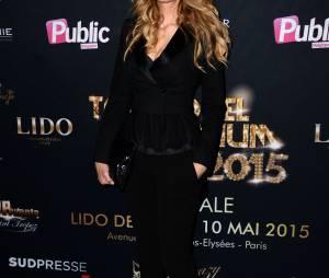 Adriana Karembeu à l'élection Top Model Belgium organisée au Lido à Paris le dimanche 10 mai 2015