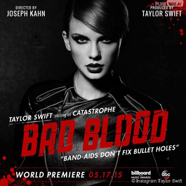 Taylor Swift va dévoiler son clip 'Bad Blood' aux Billboard Music Awards 2015