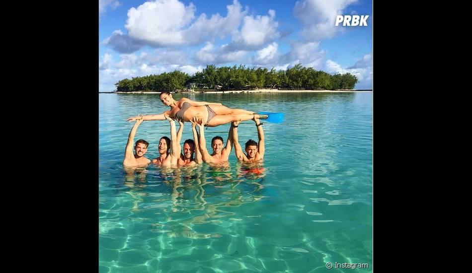 Rayane Bensetti, Denitsa Ikonova, Maxime Dereymez... à l'île Maurice en mai 2015