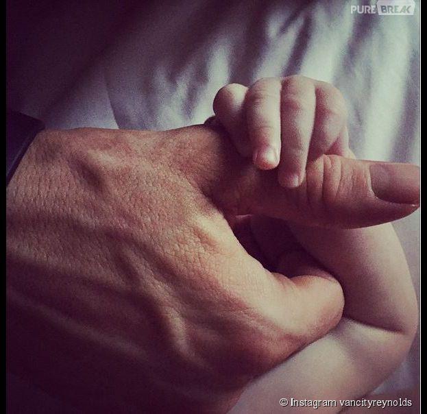 Ryan Reynolds et Blake Lively : une photo de leur fille dévoilée sur Instagram