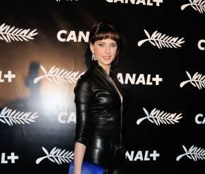 Frédérique Bel à la soirée de Canal+ à Cannes le vendredi 15 mai 2015
