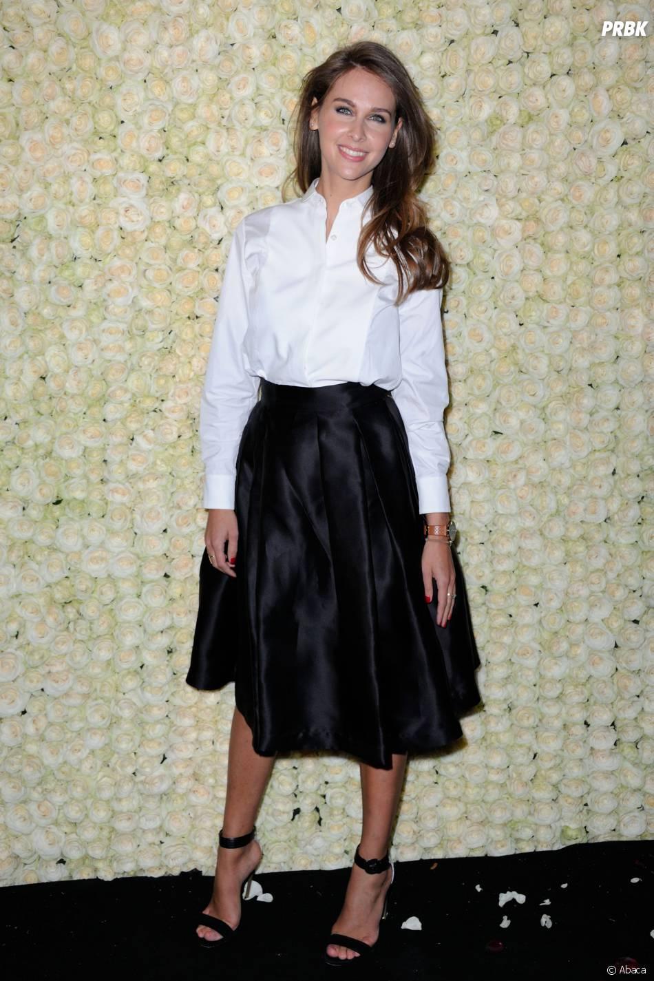 Ophélie Meunier à la soirée de Canal+ à Cannes le vendredi 15 mai 2015