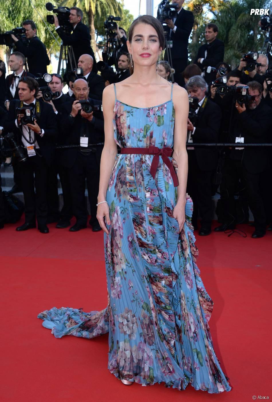 Charlotte casiraghi sur le tapis rouge du festival de cannes le 17 mai 2015 purebreak - Festival de cannes tapis rouge ...