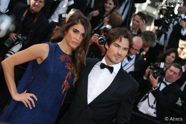 Ian Somerhalder et Nikki Reed amoureux à la projection de Youth au Festival de Cannes le 20 mai 2015