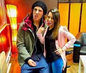 "David Luiz, ici avec sa petite-amie Sara Madeira, assure qu'il n'est ""pas vierge"""