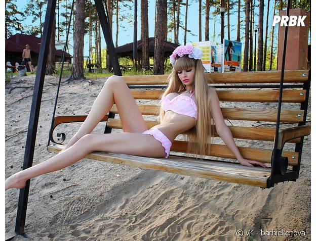 La barbie humaine russe se montre encore