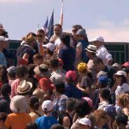 Roland Garros : grosse bagarre dans les tribunes, un match interrompu