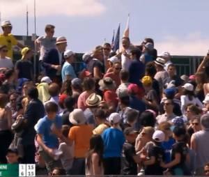Roland Garros : une bagarre a éclaté dans les tribunes ce mercredi 27 mai 2015 lors du match entre Benoît Paire et Fabio Fogini