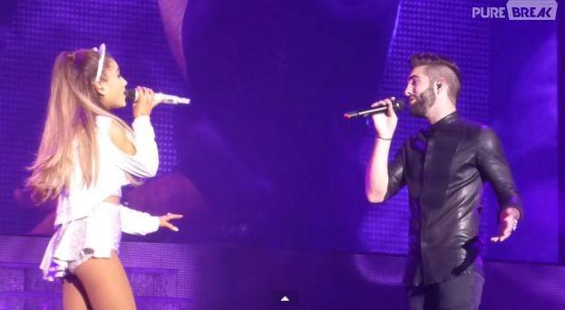 Kendji Girac et Ariana Grande prêts à se revoir