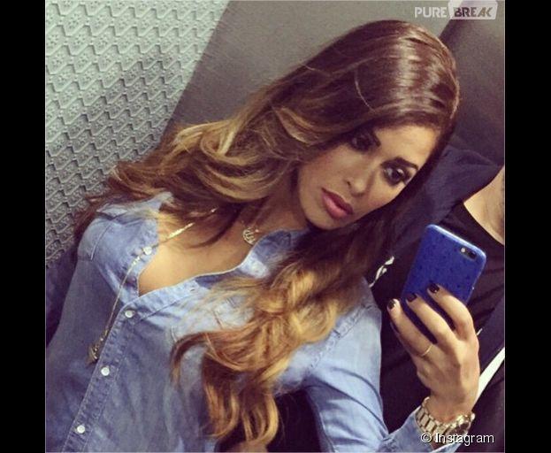 Ayem Nour blonde après son challenge sur Instagram le 1er juiçn 2015