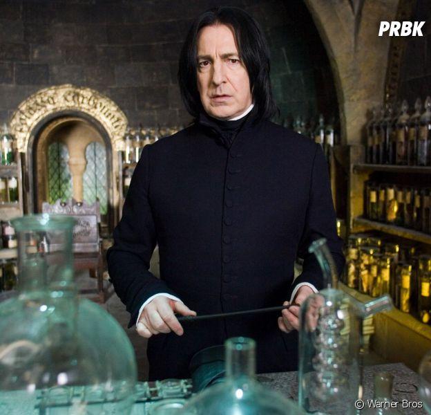 Harry Potter : un sosie de Severus Rogue (version Alan Rickman) fait le buzz sur la Toile