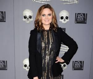 Emily Deschanel lors de la soirée organisée pour le 200ème épisode de la série Bones, le 8 décembre 2014 à Los Angeles