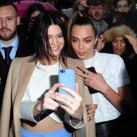 Kendall Jenner et Cara Delevingne nues et sexy : petit coup de langue sur Instagram