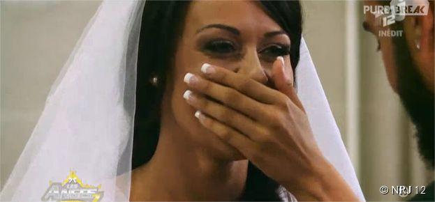 Les Anges 7 : Shanna émue lors de son mariage avec Thibault