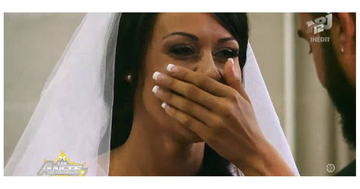 shanna et thibault les anges 7 perdus pendant leur mariage cause des alliances. Black Bedroom Furniture Sets. Home Design Ideas