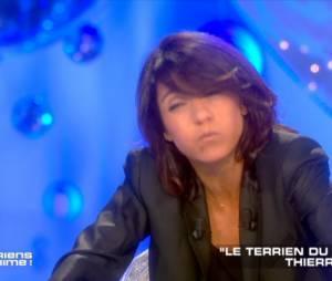 Florence Foresti imite a la perfection Thierry Ardisson dans le prime de Salut Les Terriens, à découvrir en intégralité le 20 juin 2015 sur Canal+