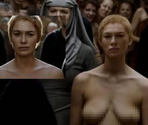 Game of Thrones saison 5 : Lena Headey (Cersei) nue ? Non, une doublure