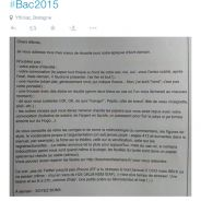 Bac 2015 : les conseils délirants d'un prof de français font le buzz sur Twitter