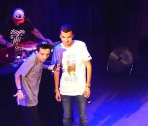 Bigflo & Oli au concert de la Fête de la musique enregistré au Divan du Monde et diffusé sur Trace TV le 21 juin 2015