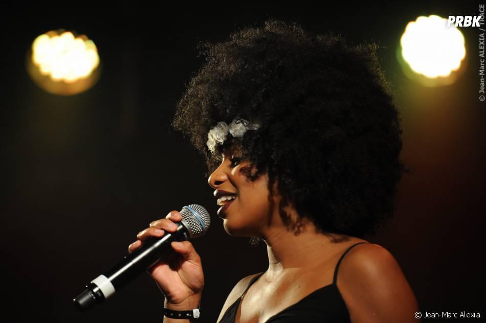 Jennifer Dias au concert de la Fête de la musique enregistré au Divan du Monde et diffusé sur Trace TV le 21 juin 2015