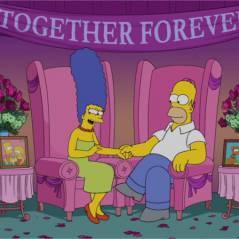 Les Simpson : Homer et Marge répondent aux rumeurs de divorce en vidéo