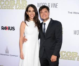 Josh Hutcherson et Claudia Traisac en couple à l'avant-première hollywoodienne de Paradise Lost, le 22 juin 2015