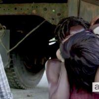 """The Walking Dead saison 6 : un épisode 1 """"énorme"""", Michonne et Daryl s'embrassent sur le tournage"""
