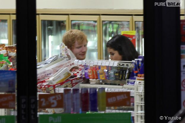 Ed Sheeran et Selena Gomez à Los Angeles, le 26 juin 2015