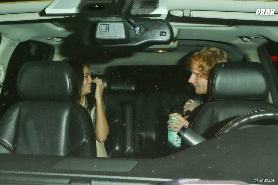 Ed Sheeran et Selena Gomez ensemble à Los Angeles, le 26 juin 2015