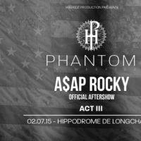 Weekidz Production présente l'AFTERSHOW d'A$AP ROCKY le 2 juillet !