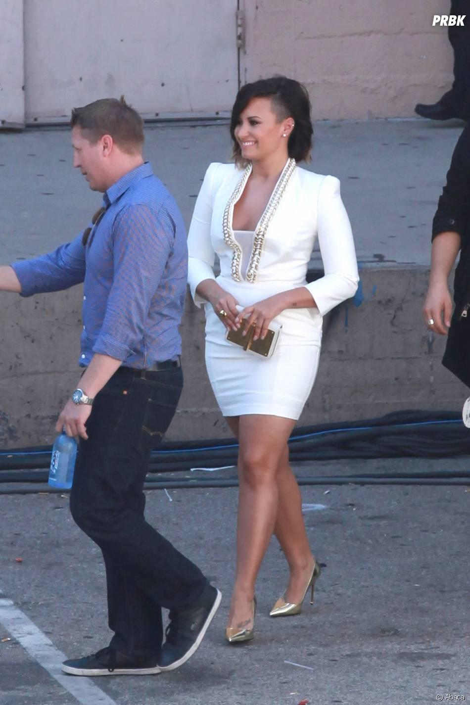 Demi Lovato en août 2014