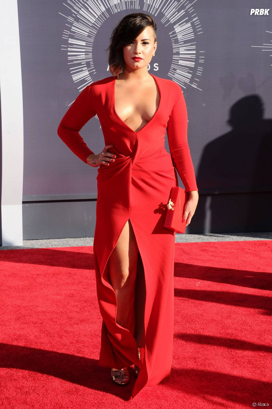 Demi Lovato aux MTV Video Music Awards en août 2014