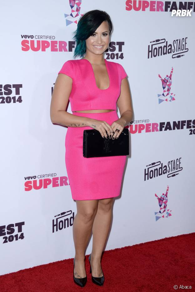 Demi Lovato avant sa perte de poids en 2014