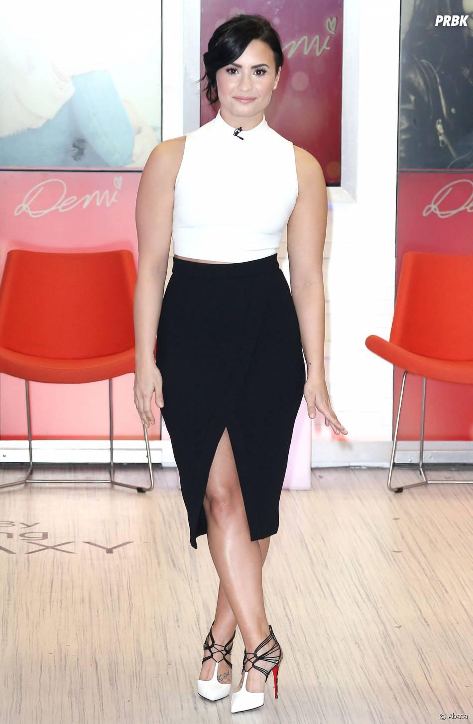 Demi Lovato à Good Morning America en mars 2015