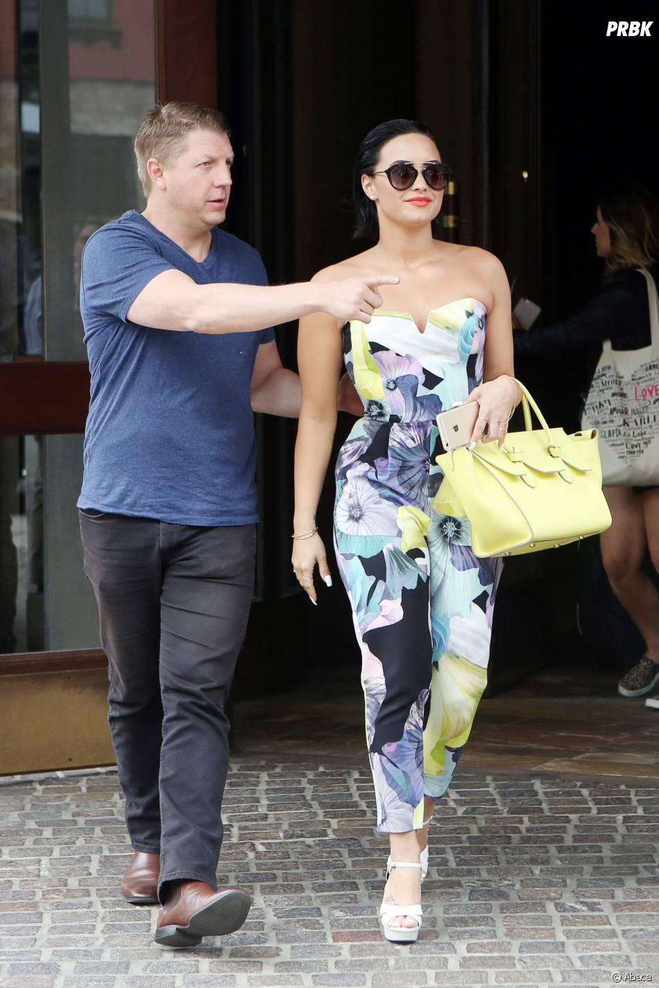 Demi Lovato sexy à New York en juin 2015