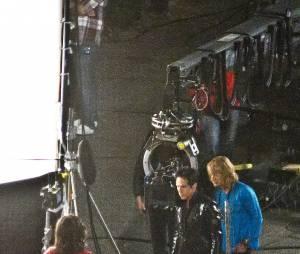 Zoolander 2 : Penelope Cruz sur le tournage avec Ben Stiller et Owen Wilson, au cinéma en mars 2016